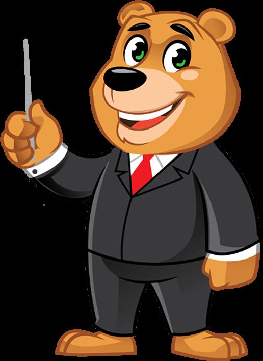 Cartoon character_Panda executive