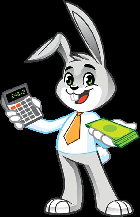 Cartoon character_Rabbit financier